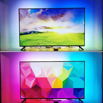 5 метра Интерактивная подсветка на 30светодиодов/м Ambilight для Android-TV и ПК