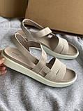 Очень мягкие натуральные босоножки ecco, сандалии, фото 4