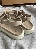 Очень мягкие натуральные босоножки ecco, сандалии, фото 5