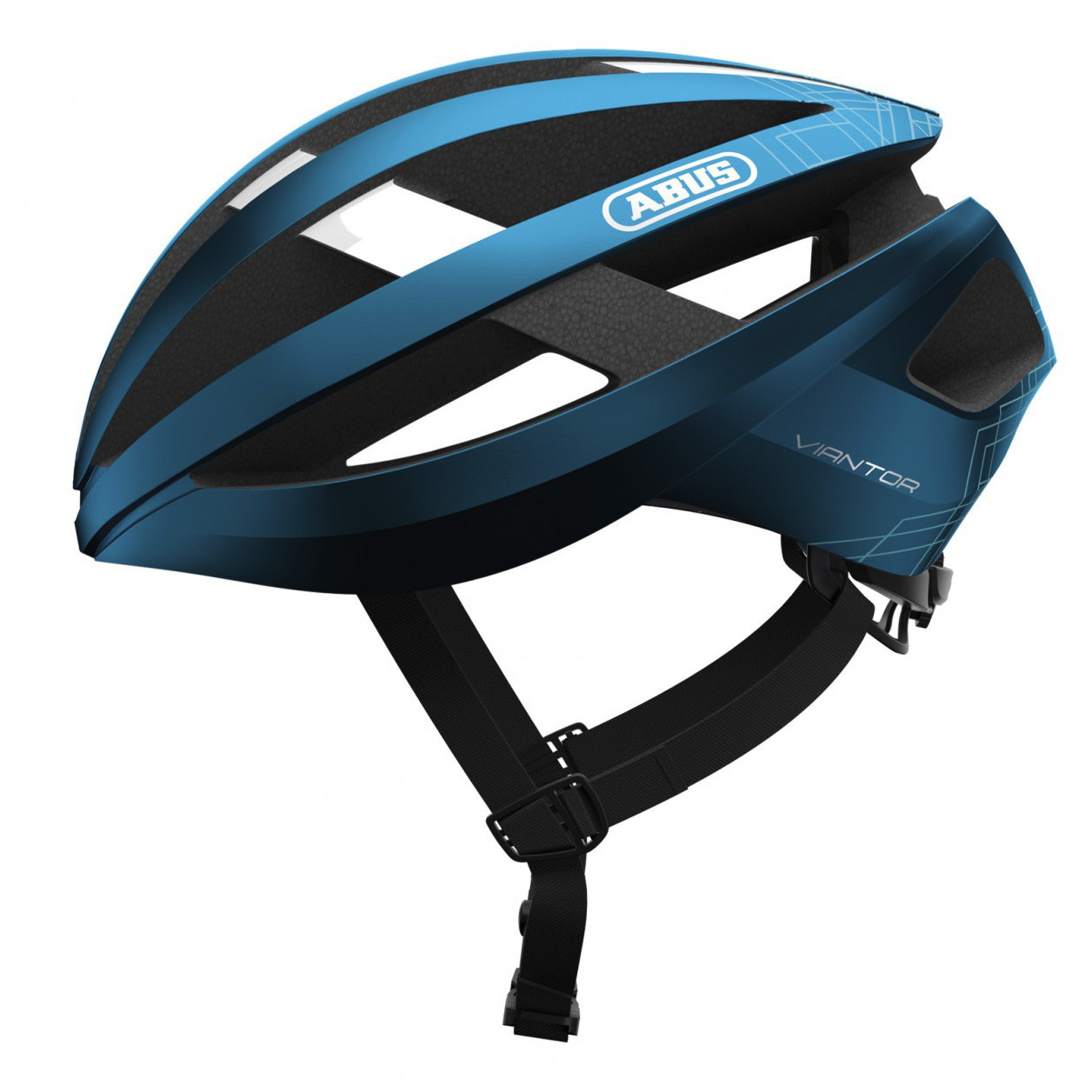 Шолом велосипедний ABUS VIANTOR L 58-62 Steel Blue