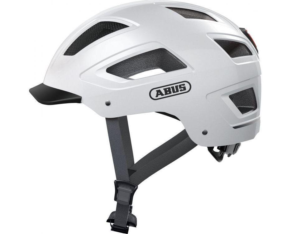 Шолом велосипедний ABUS HYBAN 2.0 XL 58-63 Polar White