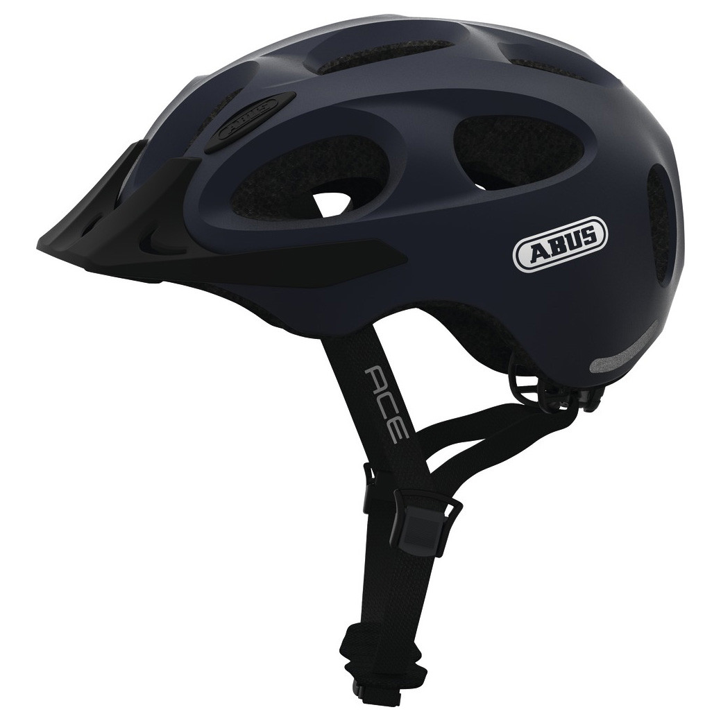 Шолом велосипедний ABUS YOUN-I ACE L 56-61 Metallic Blue