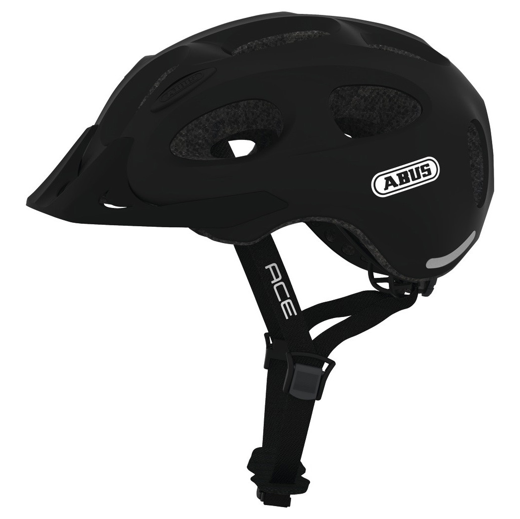 Шолом велосипедний ABUS YOUN-I ACE L 56-61 Velvet Black