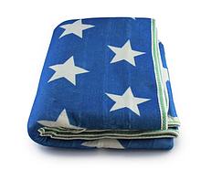Электропростынь Electric blanket 150*170 белая звезда на синем фоне