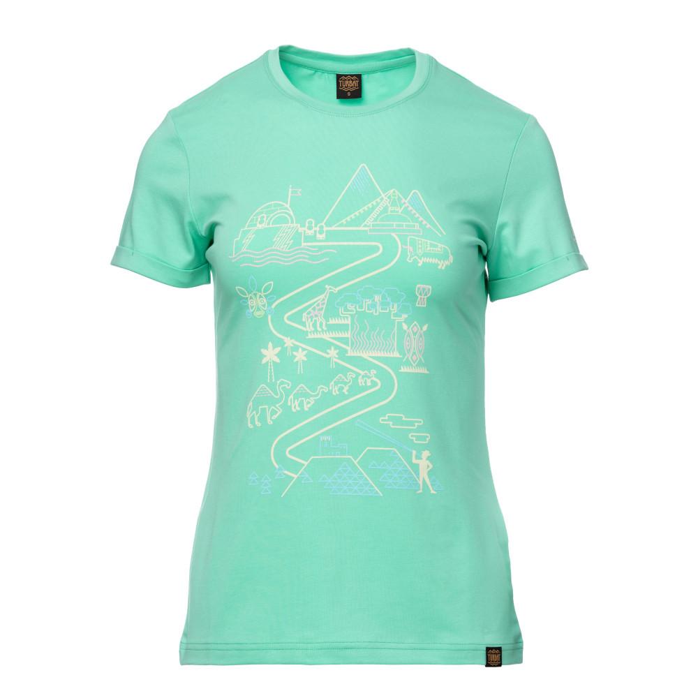 Футболка жіноча Turbat MANDRY 2 XS Turquoise