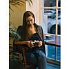Кофта жіноча Turbat Dreamer Wmn XS Black Melange, фото 8