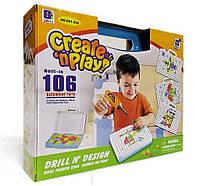 Детский развивающий конструктор для мальчиков ABCс шуруповертом