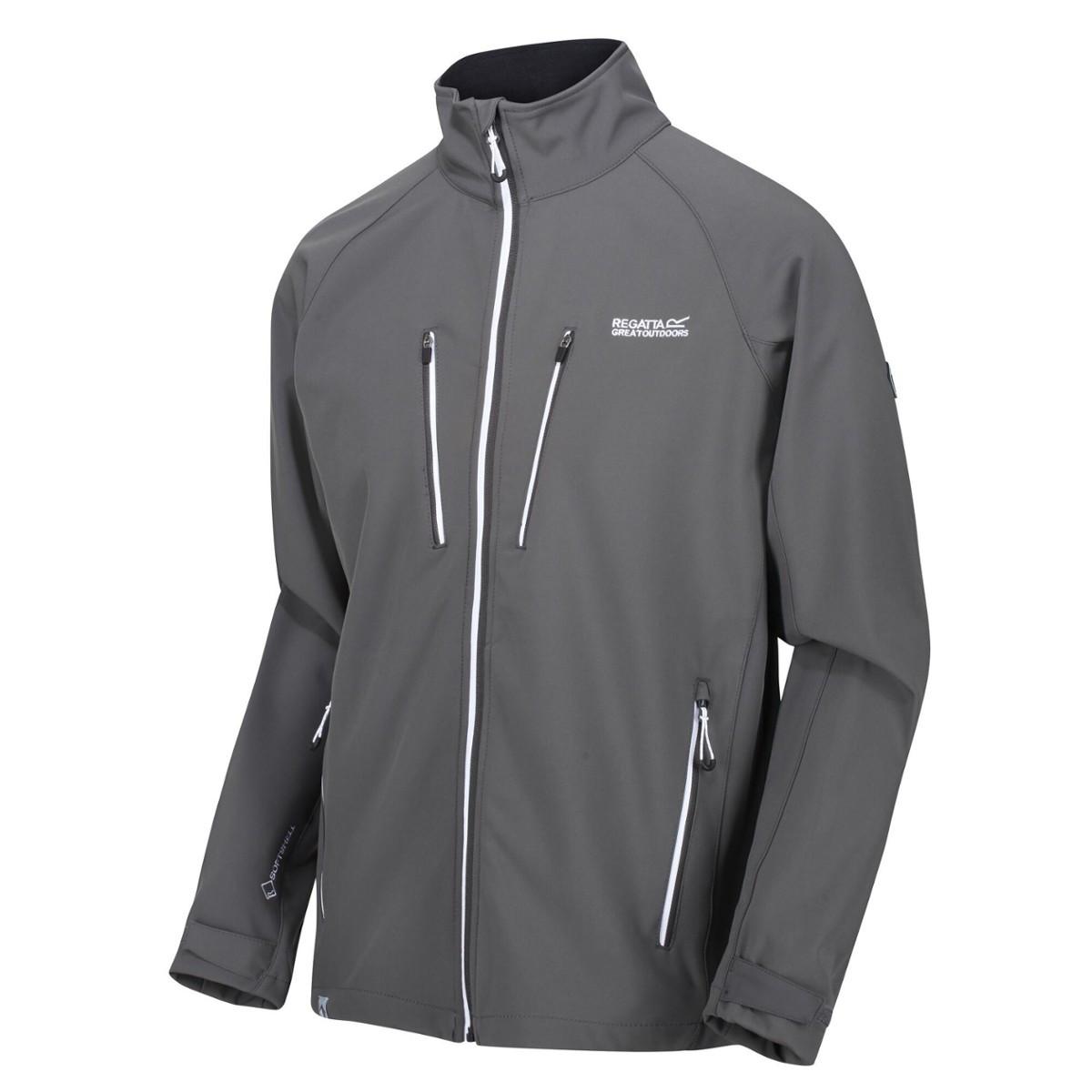 Куртка чоловіча Regatta Nielson Softshell S Сірий