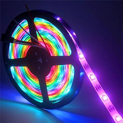Світлодіодна стрічка 5В RGB 5050(30LED/м) IP20