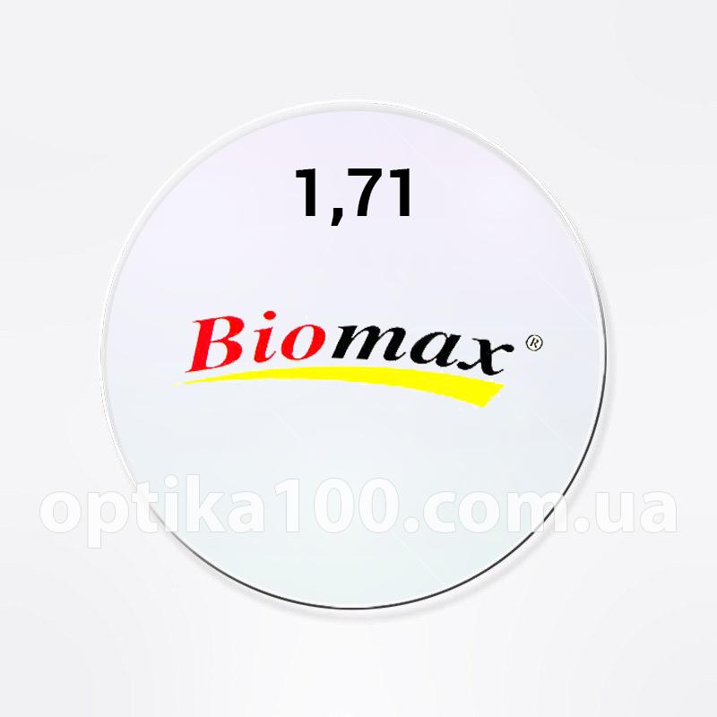 Стеклянная утончённая линза для очков с антибликом AR в индексе от 1,52 до 1,71