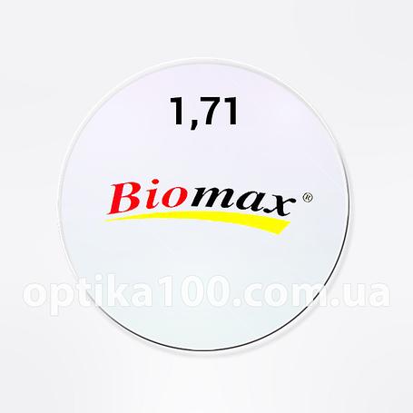 Стеклянная утончённая линза для очков с антибликом AR в индексе от 1,52 до 1,71, фото 2