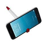 Ручка шариковая NEVADA с клипом - подставкой для смартфона и встроенным стилусом, фото 2