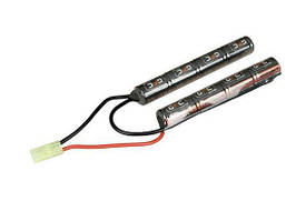 Аккумулятор NiMH 9,6V 1600mAh 2-modułowy [GFC Energy] (для страйкбола)