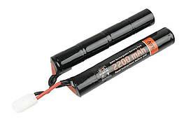 Аккумулятор NiMH 9,6V 2200mAh - dwudzielny [GFC Energy] (для страйкбола)