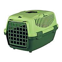 Контейнер-переноска для дрібних тварин до 6 кг Trixie «Capri 1» 32 x 31 x 48 см (зелена)