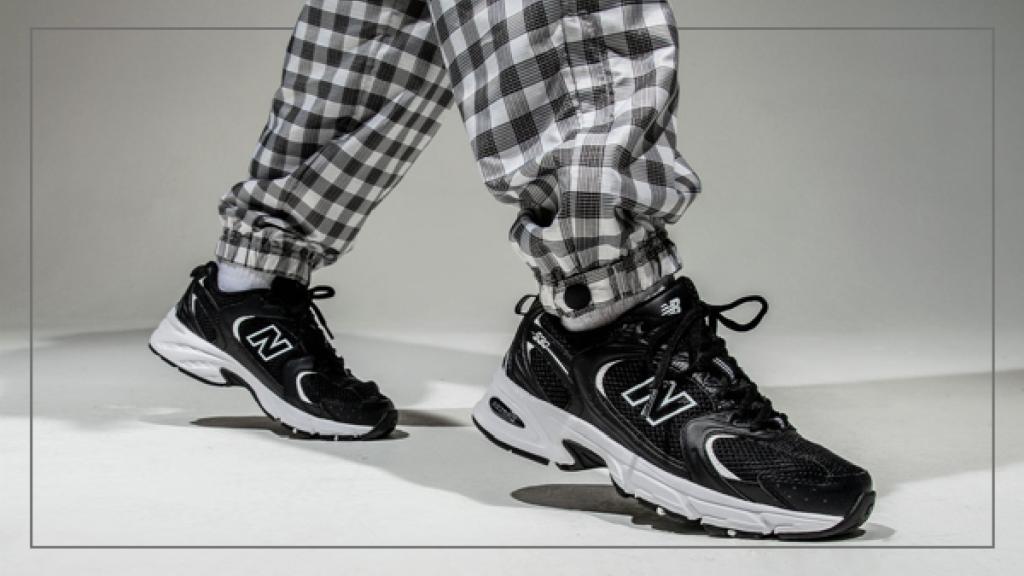 Женские кроссовки New Balance 530 в стиле нью беланс Черные (Реплика ААА+)