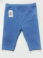 Капри синие для девочки на 3-6 месяцев