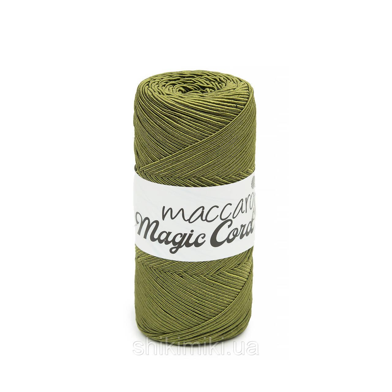 Фантазийный шнур Maccaroni Magic Cord, цвет  хаки