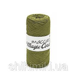 Шнур сутажний Maccaroni Magic Cord, колір Хакі