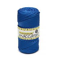 Трикотажный полипропиленовый шнур PP Macrame XL 4 mm, цвет Светло синий