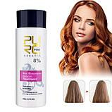 Кератин 8% + шампунь глубокого очищения PURC Keratin Treatment 100 ml + Shampoo 100ml (набор), фото 2