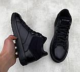 Мужские зимние ботинки Tommy Hilfiger H1171 черные, фото 2