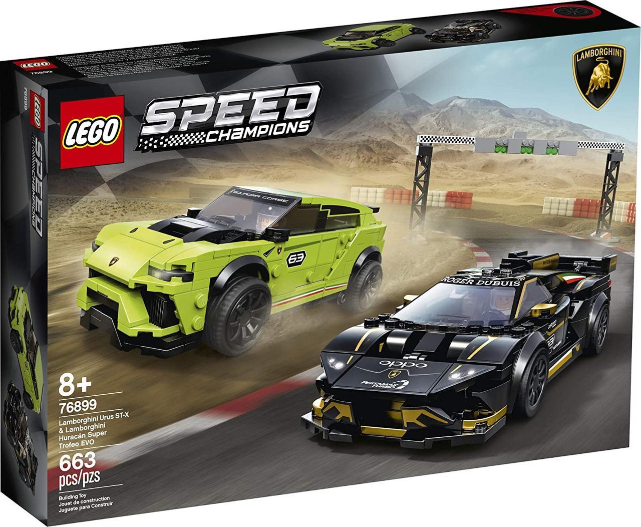 Конструктор LEGO Speed Champions Lamborghini 76899