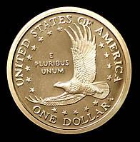 Монета США 1 доллар 2003 г. Сакагавея. Парящий Орел, фото 1