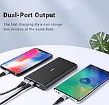 Повербанк Topk УМБ Power Bank 1xUSB 10000 mAh серый microUSB, USB Type-C, USB, фото 8