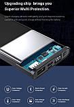Повербанк Topk УМБ Power Bank 1xUSB 10000 mAh серый microUSB, USB Type-C, USB, фото 5