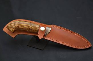 """Нож ручной работы в охотничьем стиле """"Защитник"""", авторский нож украинских мастеров, фото 2"""