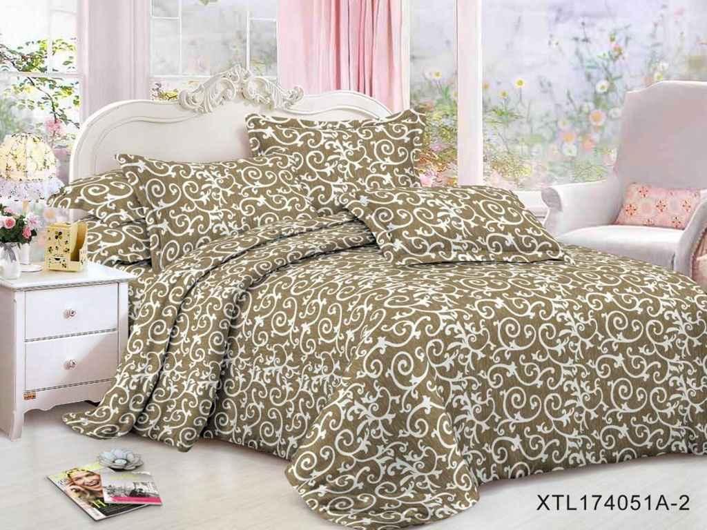 Комплект постільної білизни 2 спальний 70*70 полібязь 3Д арт.62 ТМ Constancy