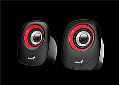 Колонки Genius 2.0 SP-Q160 USB RED