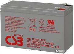 Акумуляторна батарея CSB 12V 9Ah HRL1234WF2FR