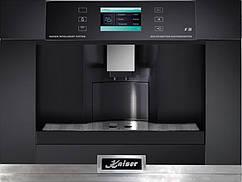 Вбудовувана кавоварка Kaiser EH6318KA - TFT дисплей/8 режимів роботи/чорний