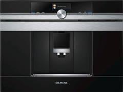 Вбудовувана кавоварка Siemens CT636LES1 -19Бар/1600Вт/дисплей/чорний