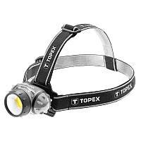 Ліхтарик налобний 3 Вт LED COB, 3xAAA
