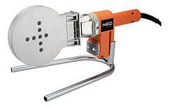Паяльник для пластикових труб NEO Tools, 1200 Вт, 16 - 110мм, PTFE-покриття, 260°С, 6.9 кг, кейс