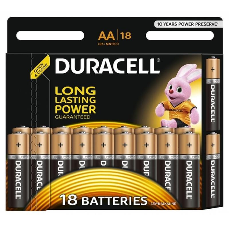 Батарейка Duracell Basic AA/LR06 BL 18шт