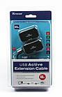 Активный удлинитель Viewcon VE399 USB 1.1 - Ethernet (до 60м), фото 2