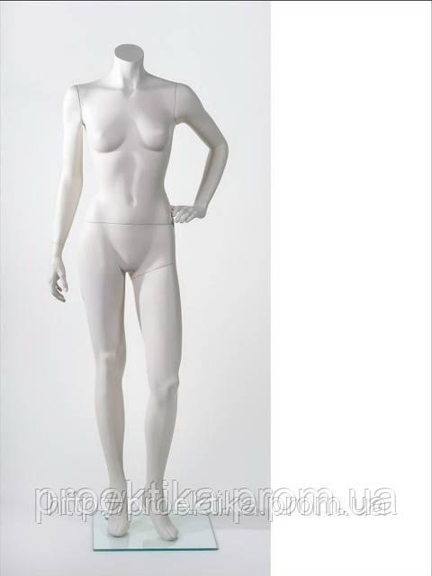 Манекен женский без головы MM-BG14 (RAL 9001), фото 1