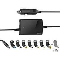 Універсальний автомобільний зарядний пристрій НАМА для ноутбуків Slim&Light, 15-19 В/70 Вт, black