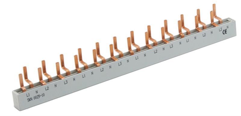 Шина живлення SKN0030/10 3F+N 12модулів