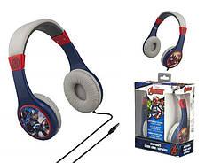 Навушники eKids MARVEL, Avengers Kid-friendly volume