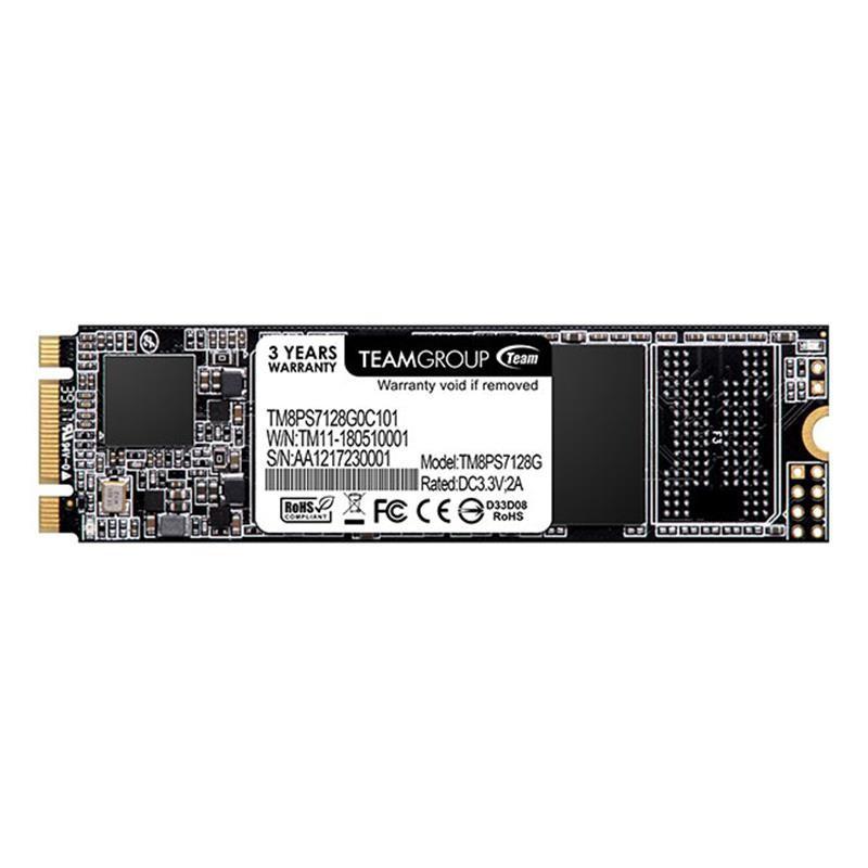 Накопитель SSD 128GB Team MS30 M.2 2280 SATAIII TLC (TM8PS7128G0C101)