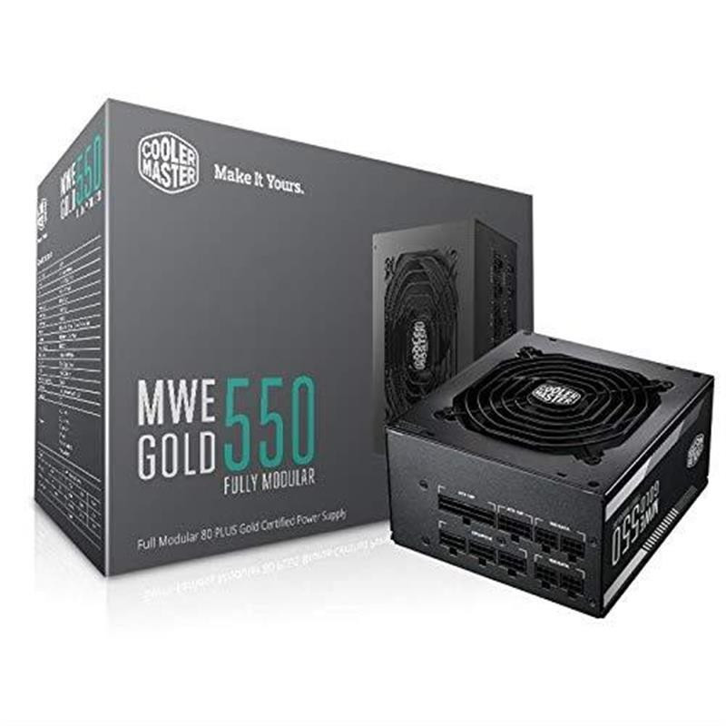 Блок питания CoolerMaster MWE Gold 550W (MPY-5501-AFAAG-EU)