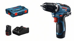 Шурупокрут Bosch GSR 12V-35, безщітковий, 2x3.0Ah, 35Нм, AutoLock, L-BOXX 102, 0.75 кг