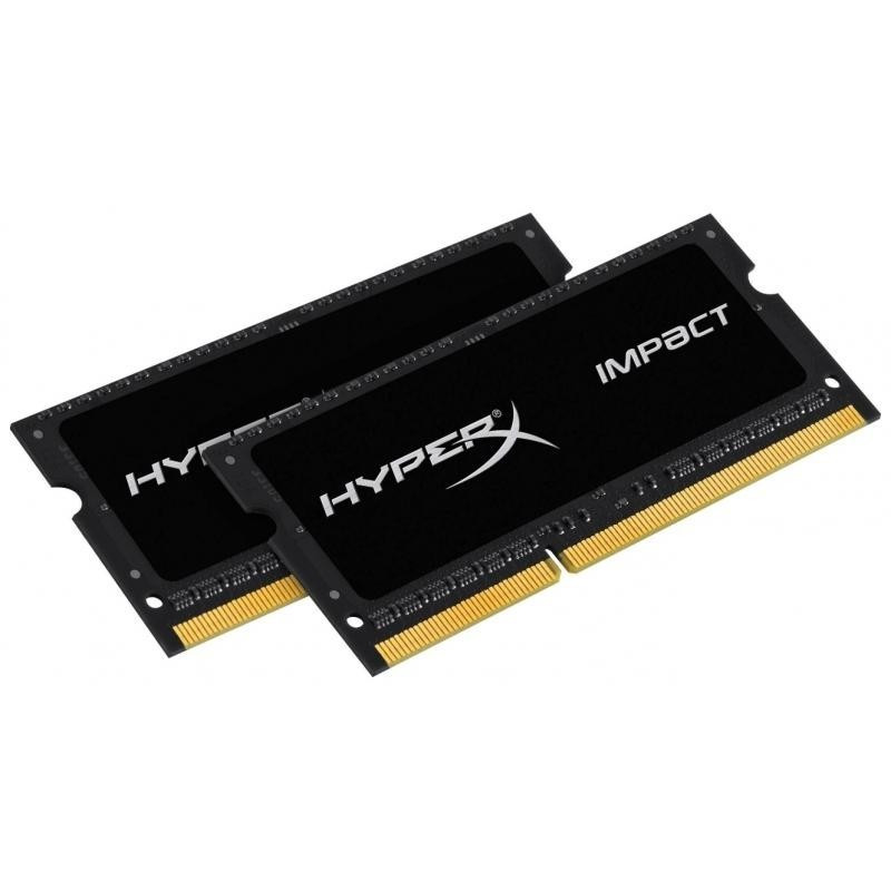 Пам'ять SO-DIMM 2x8Gb/1866 1.35 V DDR3L Kingston HyperX Impact (HX318LS11IBK2/16)