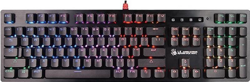 Клавиатура A4Tech Bloody B820R Red SW Black USB