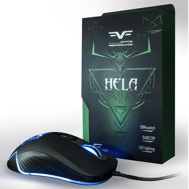 Игровая мышь Frime Hela Black, USB (FMC1840)
